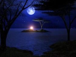 لوحة قمر