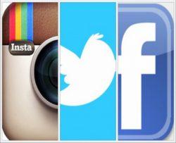 فيس وتويتر