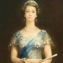 لوحة الملكة اليزابيث